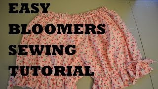 EASY Bloomers Sewing Tutorial Lolita Cute