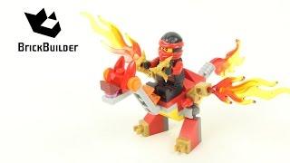 Lego Ninjago 30422 Kai's Mini Dragon - Lego Speed build