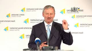 Siim Kallas, Ukrainian Сrisis Media Center. May 20, 2014.