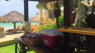 Sandals Royal Caribbean in Jamaica, June 2015 - Over the water bungalows update
