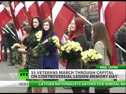 Mad March: Nazi SS 'glorified' in Latvia