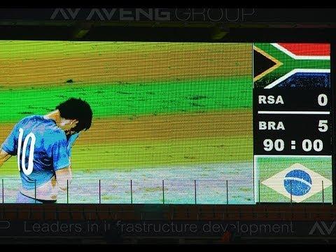 Bafana suffer embarrassing defeat against Brazil