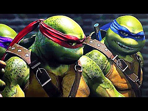 INJUSTICE 2 Teenage Mutant Ninja Turtles Trailer (2017) TMNT Fighter Pack 3
