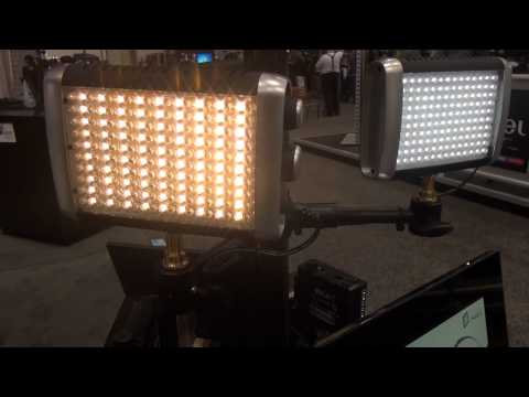 NAB 2012  - Litepanels Chroma  Luma