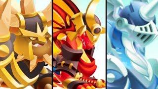 Vũ Liz Dragon City Tập 28 : 3 Chàng Rồng Ngự Lâm Quân !!!
