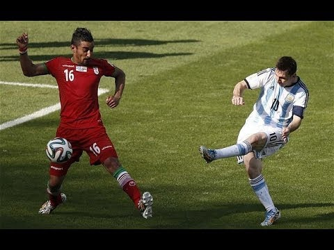 World Cup: Lionel Messi produced a spectacular goal against Iran