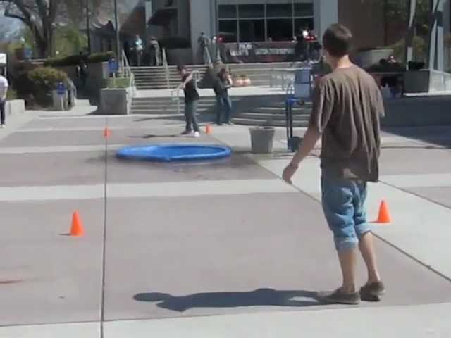 Chico State Student Market WaterCourt Demo
