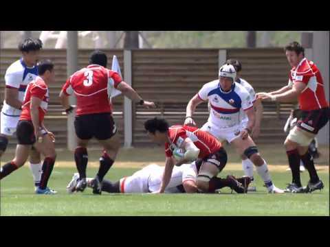 Asia Rugby Championship 2015 - Korea vs Japan 1st Half