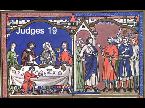 Judges 19 (with text - press on more info. of video on the side)