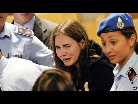 Amanda Knox found guilty again - Case retrial verdict of 28 years in prison for Amanda Knox