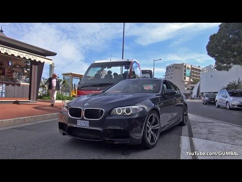 Noisy BMW M5 F10 V8 Biturbo Exhaust Sounds! klip izle