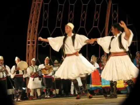 Festivali Folklorik i Gjirokastres 2009   Valle dyshe nga Berati