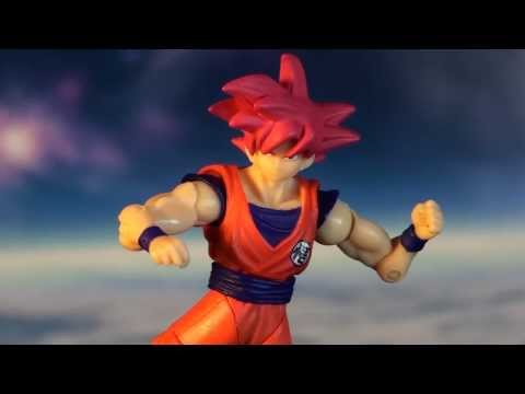 R271 Bandai Shodo Dragon Ball Z Super Saiyan God Son Gokou Review