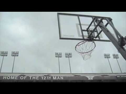Worlds Longest Basketball Shot | FIELD VIEW | Dude Perfect