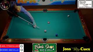 Earl Strickland Vs Dennis Orcullo 8 Ball Championship Matches
