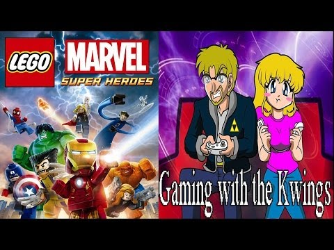 Gaming with the Kwings - Lego Marvel: Exploring New York co-op fun!
