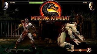 Mortal Kombat  Kratos vs Goro