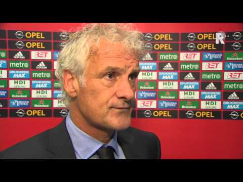 Fred Rutten na afloop van Feyenoord - Besiktas