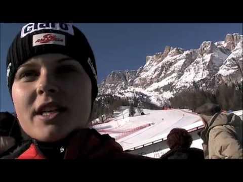 Anna Fenninger in Cortina d' Ampezzo, 2010