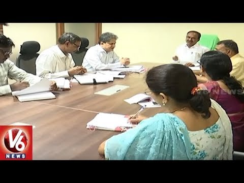 Minister Etela Rajender Holds Meet With Employees Association Leaders | Hyderabad | V6 News
