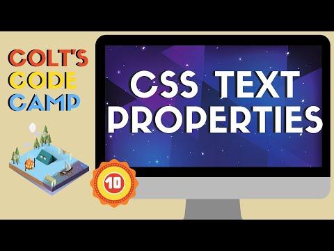 Download  Essential CSS Text Properties - Colt's Code Camp Gratis, download lagu terbaru