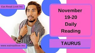 """TAURUS SOULMATE """"ARE YOU BUSY?"""" NOVEMBER 19-20 DAILY TAROT READING"""