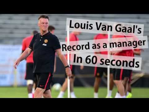 Louis Van Gaal: Manchester United manager's record in 60 seconds