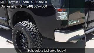 Lifted CCC Edition 2011 Toyota Tundra Limited 4x4 4dr CrewMax Cab Pickup SB (5.