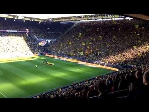 Dortmund - Paderborn 3:0 | Jürgen Klopp und Dortmunder Jungs