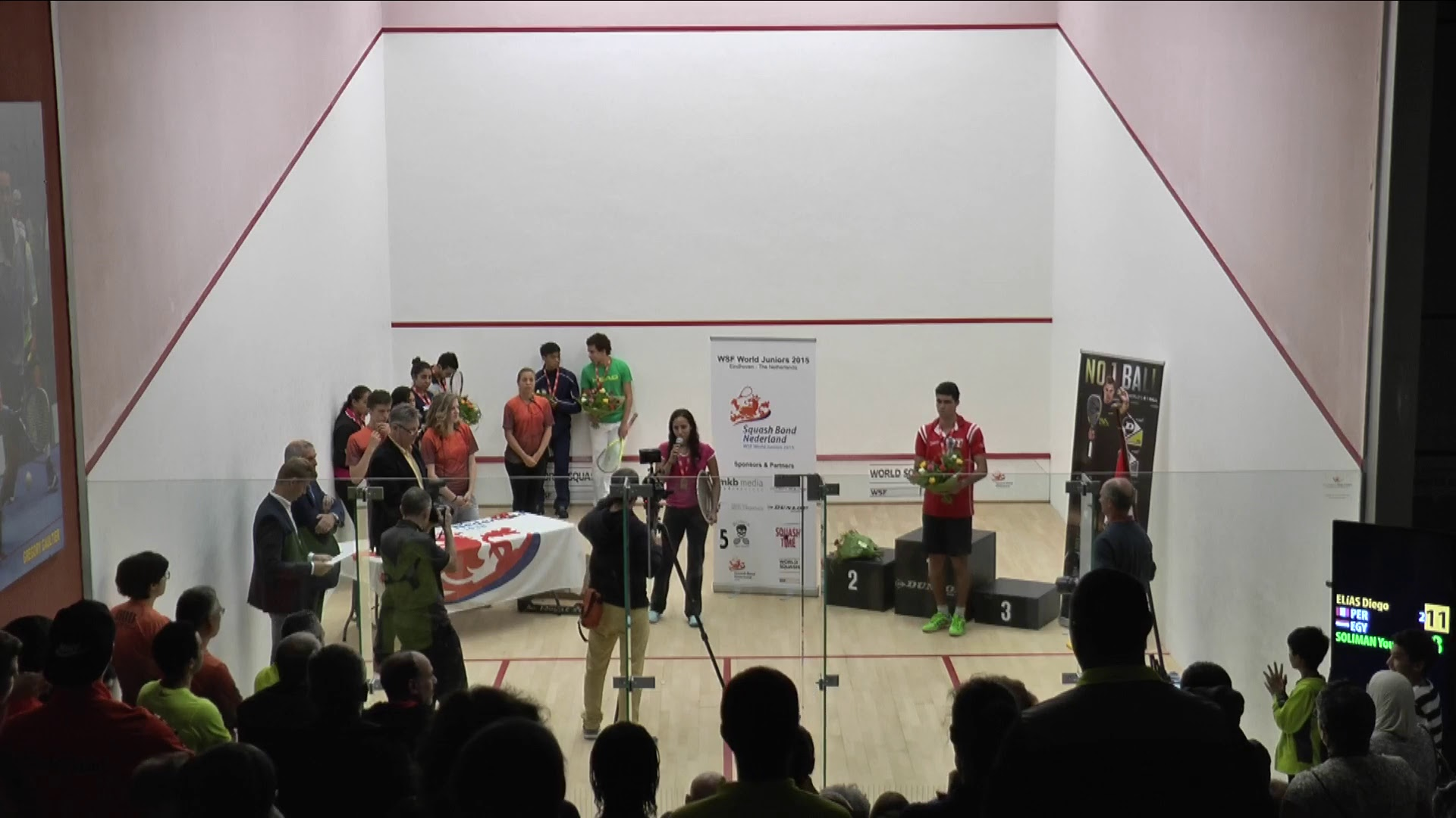 2015 World Junior Squash Championships Finals