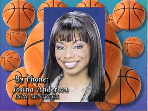 Interview with Josina Anderson on The Roundball Report 700th Edition