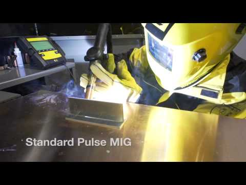 SuperPulse Process Produces TIG-like Weld Beads without Gun Manipulation