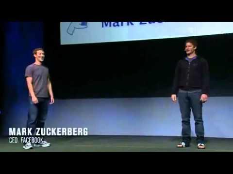 Facebook f8 2011 Mark Zuckerberg Andy Samberg [SimplyAbuDhabi.com].mp4