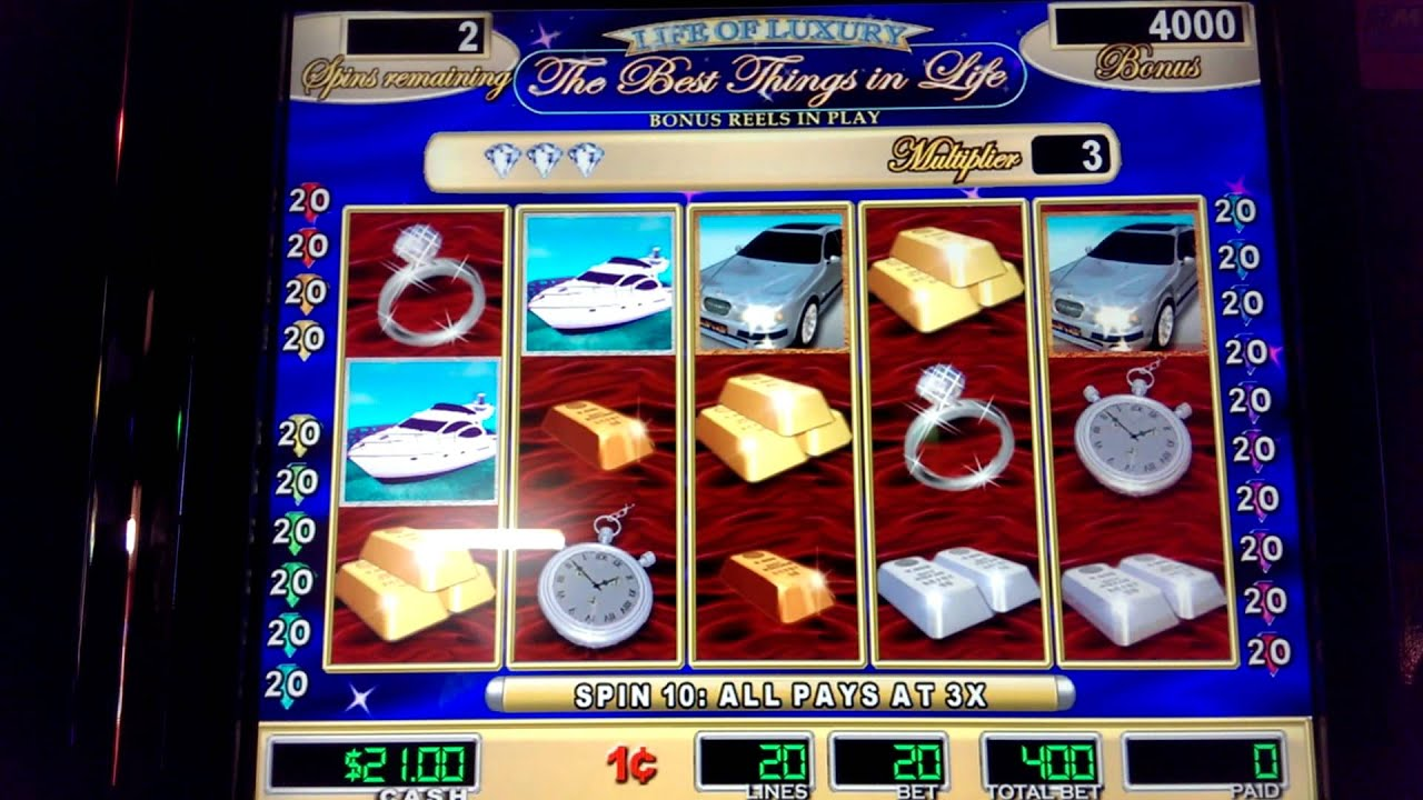 free slots games life of luxury