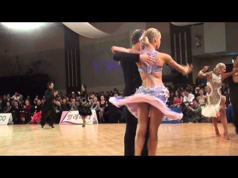 Korea Open 2014 Professional Latin F  Cha Cha Cha  Riccardo Cocchi   Yulia Zagoruychenko