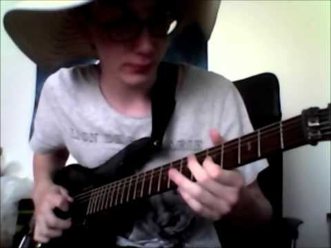 Kamelot - The Haunting / Guitar Solo Cover (Accurate)