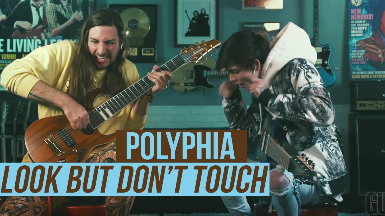 "Polyphia - ""Look But Don't Touch""のギター演奏映像を公開 thm Music info Clip"
