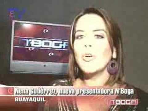 Nena Gutiérrez nueva presentadora de N´Boga