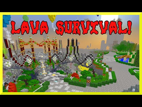 Minecraft - Lava Survival with Gamer Chad, RadioJH Auto and Instagram Fans