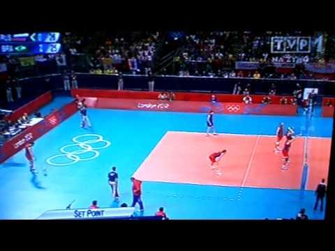 Rosja - Brazylia IO Londyn 2012 Siatkówka Finał