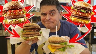 NOVOS BIG MAC do McDonald´s - Big Fire, Big Beef & Chicken e Big Four