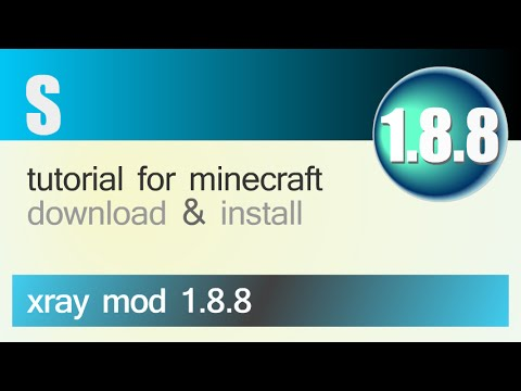 XRAY MOD 1.8.8 minecraft - how to download and install xray mod 1.8.8 (without forge)