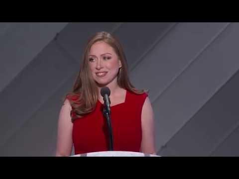 Chelsea Clinton at DNC 2016