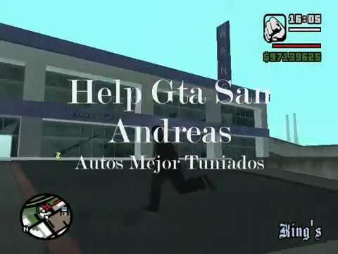 help gta san andreas (como tuniar autos) Video