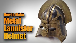 Armour Build: Game of Thrones Medieval Lannister Helmet