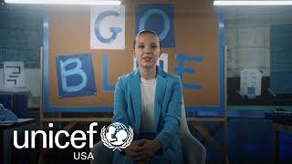 Go Blue This World Children's Day