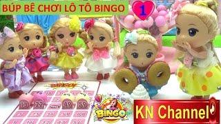 Đồ chơi trẻ em BÚP BÊ CHƠI LÔ TÔ tập 1 GAME BINGO NHẬT BẢN  Baby Doll Kids toy