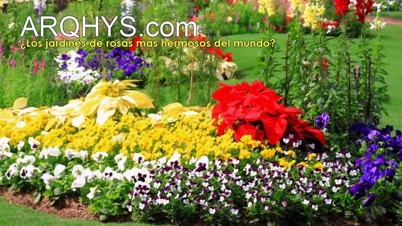 Los jardines de rosas mas hermosos del mundo youtube - Fotos de flores de jardin ...