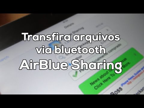 [DICA] - Transfira arquivos via bluetooth no iPhone/ iPod Touch/ iPad