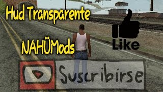 Mod HUD Transparente | Gta Sa Android | NAHÜMods •Android•